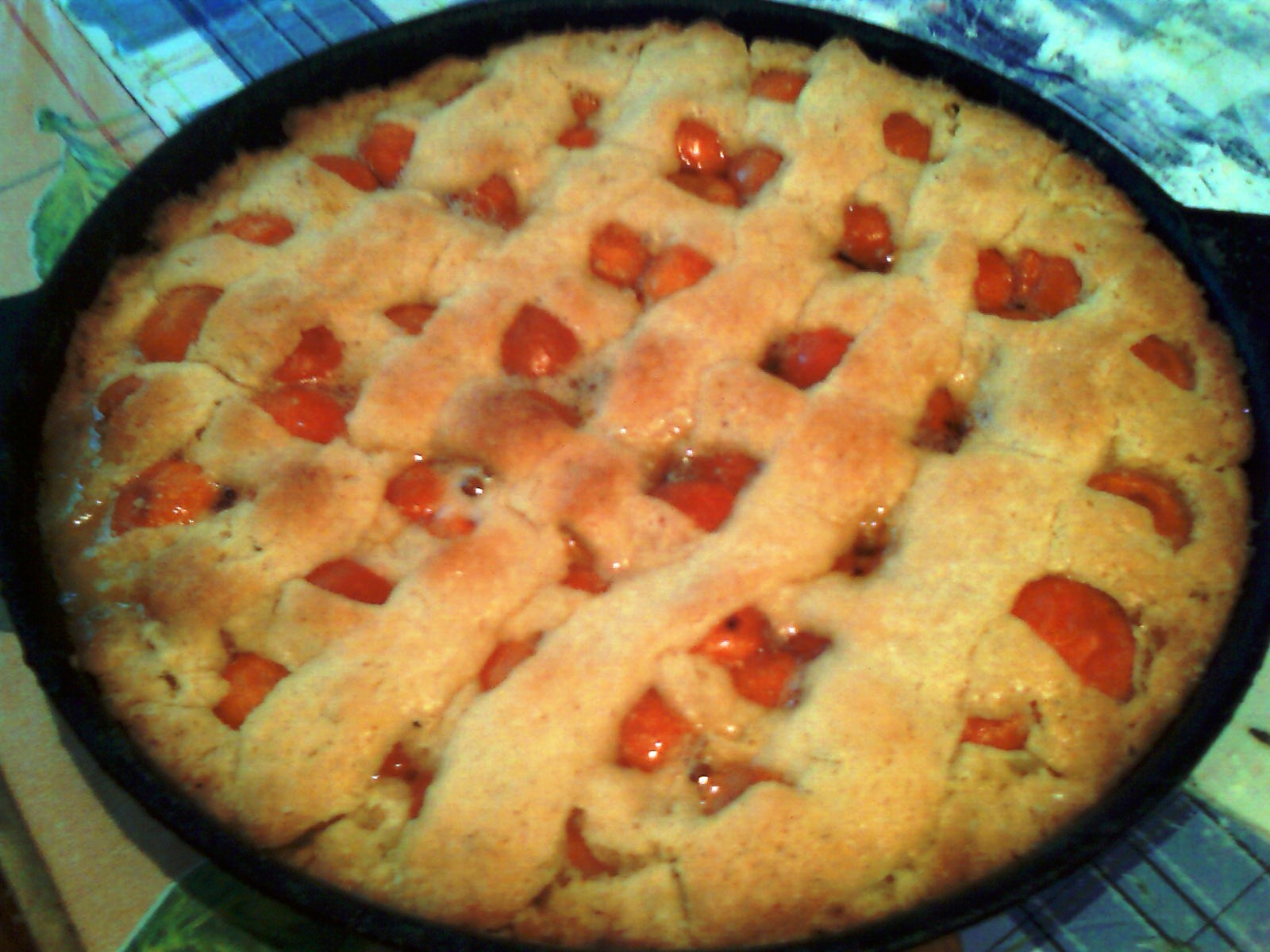 Рецепт пирога с абрикосами рецепт